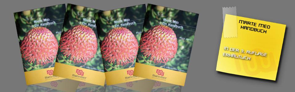 Marte Meo Handbuch in der 3. Auflage lieferbar