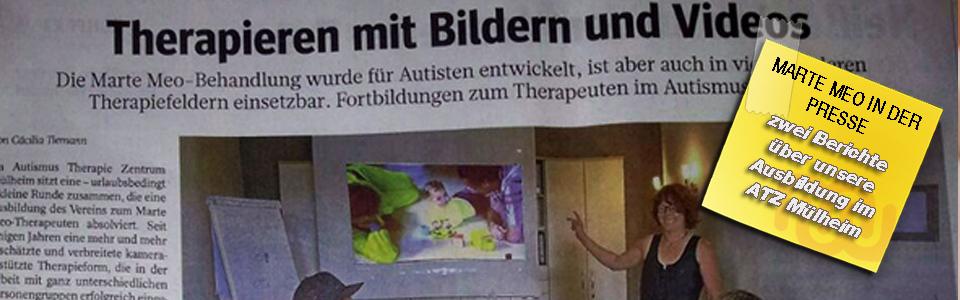 Marte Meo in der Mülheimer Presse