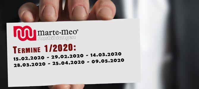 MarteMeo Practitioner 1/2020